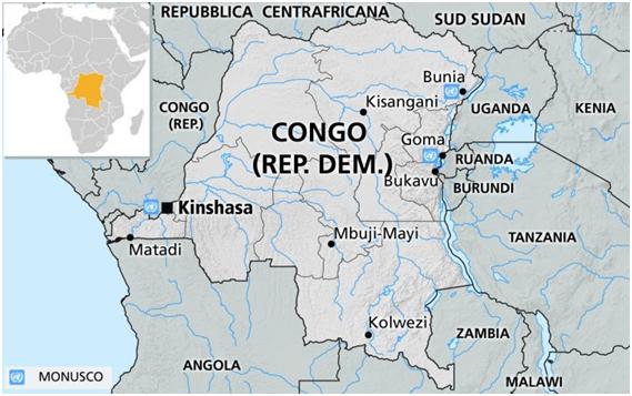 Repubblica democratica del Congo (classe 3A scuola Giovanni XXIII)
