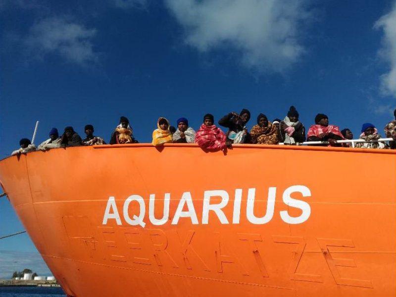 Aquarius: salvataggio nel Mediterraneo (di Gloria Agugliaro)