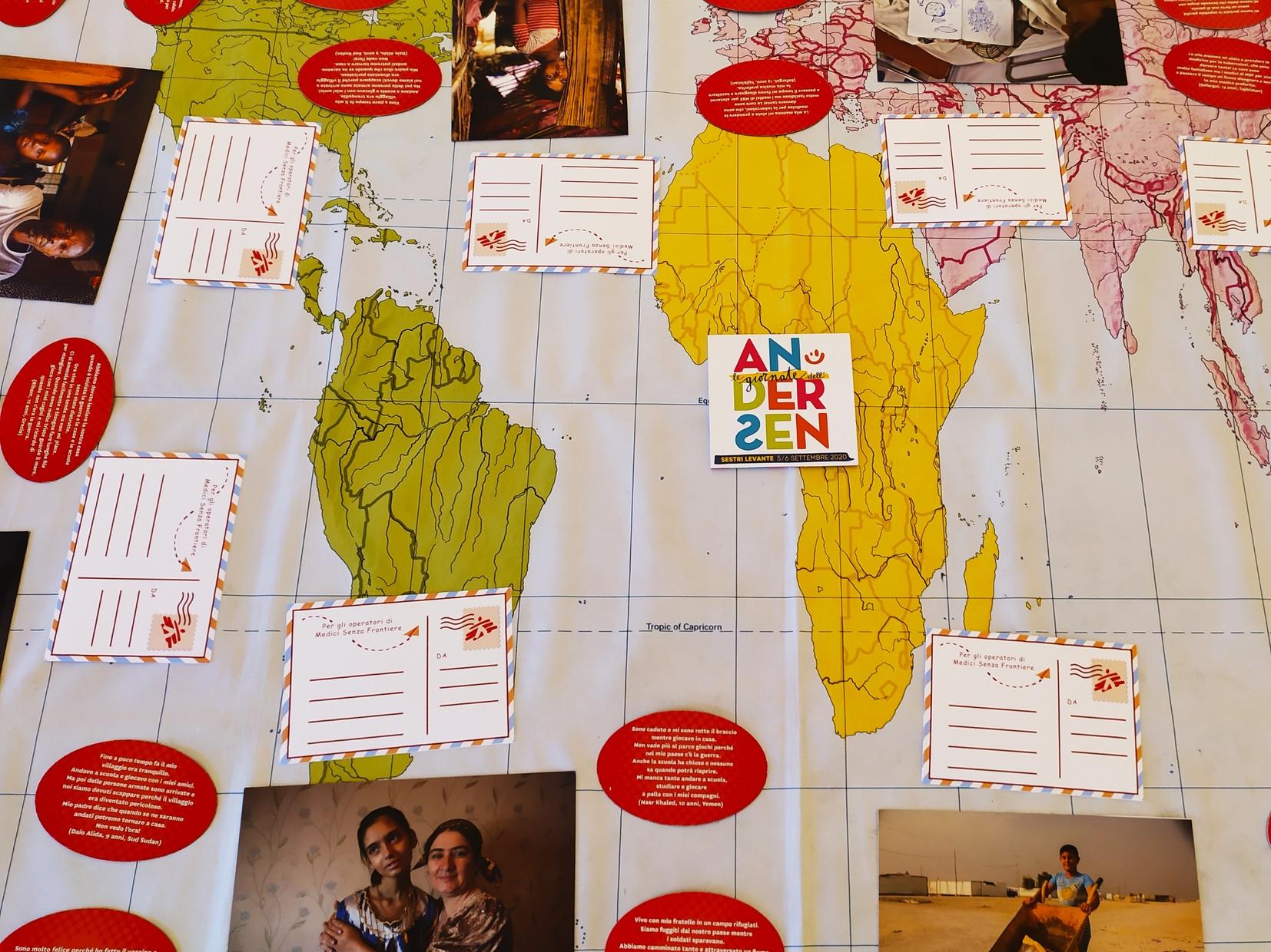 Messaggi dai ragazzi del Festival Andersen 2020