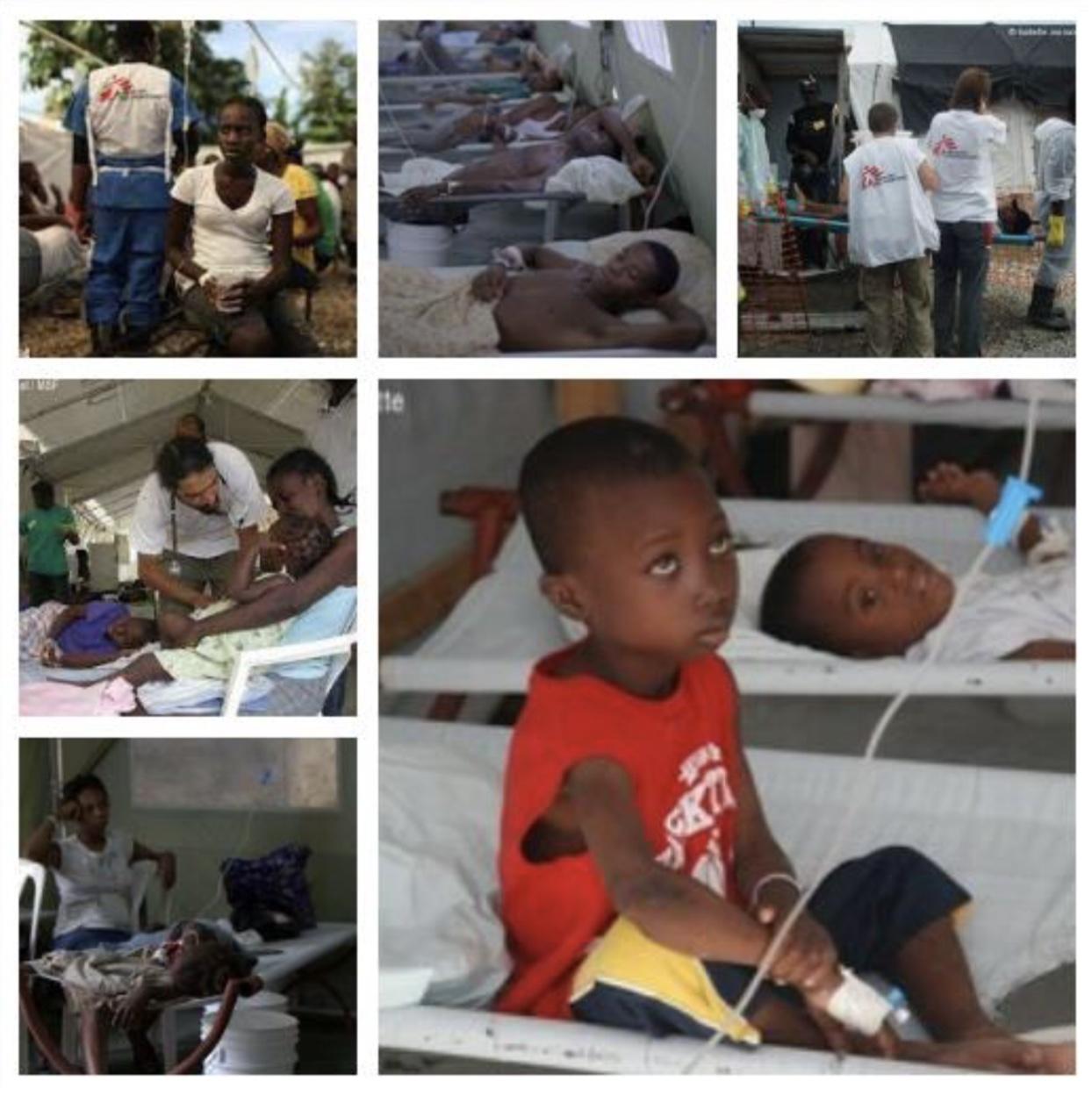 Il colera a Haiti: richieste di aiuto (di A. Porcu, E. Pintor, E. Sarritzu)
